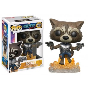 Guardians of the Galaxy: Vol. 2 - Rocket Raccoon Flying Pop! Vinyl