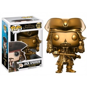 Pirates of the Caribbean - Jack Sparrow Gold US Exclusive Pop!