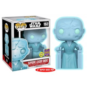"Star Wars - Snoke Holographic GW 6"" Pop! Vinyl SDCC 2017"