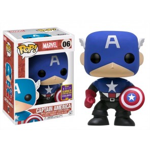 Captain America - Cptn America Bucky Pop! Vinyl SDCC 2017