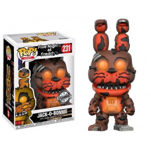 Five Nights at Freddy's - Jack-O-Bonnie Glow US Exclusive Pop! Vinyl