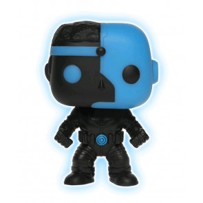 Justice League - Cyborg Silhouette Glow US Exclusive Pop! Vinyl