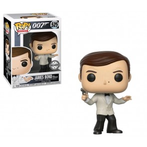 James Bond - Roger Moore (White Tux) US Exclusive Pop! Vinyl