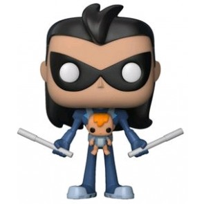 Teen Titans Go! - Robin as Nightwing with Baby US Exclusive Pop! Vinyl