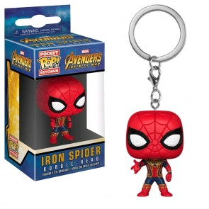Avengers 3: Infinity War - Iron Spider Pocket Pop! Keychain