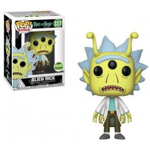 Rick & Morty - Alien Rick Pop! ECCC 2018