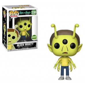 Rick & Morty - Alien Morty Pop! ECCC 2018