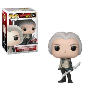 Ant-Man and the Wasp - Janet Van Dyne Unmasked US Exclusive Pop! Vinyl