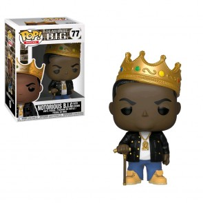Notorious B.I.G. - Notorious B.I.G. with Crown Pop! Vinyl
