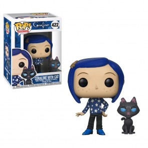 Coraline - Coraline with Cat Pop! Vinyl