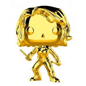 Marvel Studios 10th Anniversary - Black Widow Gold Chrome Pop! Vinyl