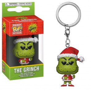 Dr Seuss - Grinch Christmas US Exclusive Pocket Pop! Keychain