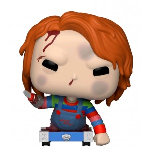 Childs Play - Chucky on Cart US Exclusive Pop! Vinyl