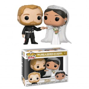 Royal Family - Duke & Duchess of Sussex Pop! Vinyl 2-pack