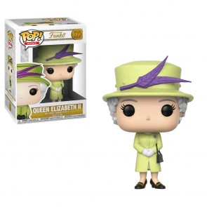 Royal Family - Queen Elizabeth II Green Dress Pop! Vinyl