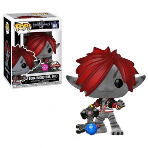 Kingdom Hearts 3 - Sora (Monsters Inc) Flocked US Exclusive Pop! Vinyl