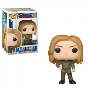 Captain Marvel - Carol Danvers Flight Suit US Exclusive Pop! Vinyl