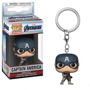 Avengers 4: Endgame - Captain America Pocket Pop! Keychain