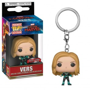 Captain Marvel - Vers US Exclusive Pop! Keychain