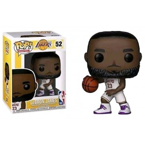 NBA: Lakers - Lebron James (White Uniform) Pop! Vinyl