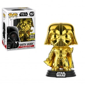 Star Wars - Darth Vader Gold Chrome SE19 Pop! Vinyl