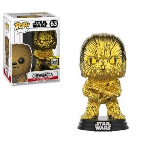 Star Wars - Chewbacca Goldd Chrome SW19  Pop! Vinyl