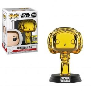Star Wars - Princess Leia Gold Chrome SW19 Pop! Vinyl