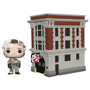 Ghostbusters - Peter with Firehouse Pop! Town