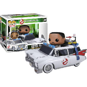 Ghostbusters - Ecto 1 with Zeddemore Pop! Ride