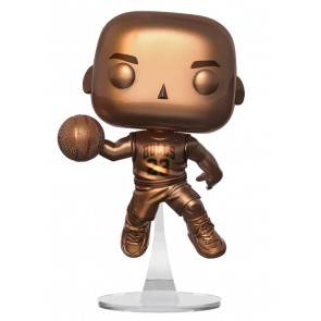 NBA: Bulls - Michael Jordan Bronzed US Exclusive Pop! Vinyl