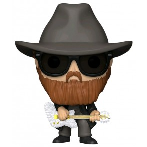 ZZ Top - Billy Gibbons Flocked Pop! Vinyl