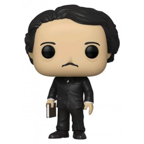 Pop Icons - Edgar Allan Poe with Book Pop! Vinyl NYCC 2019