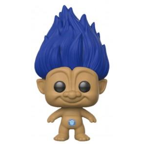 Trolls - Blue Troll with Hair US Exclusive Pop! Vinyl