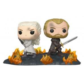 Game of Thrones - Daenerys & Jorah Back to Back Movie Moment Pop! Vinyl