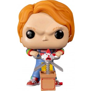 Child's Play 2 - Chucky with Buddy & Scissors US Exclusive Pop! Vinyl