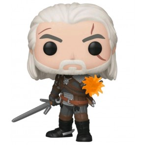 The Witcher 3: Wild Hunt - Geralt Glow US Exclusive Pop! Vinyl