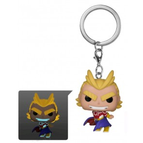My Hero Academia - All Might Silver Age Glow Pocket Pop! Keychain