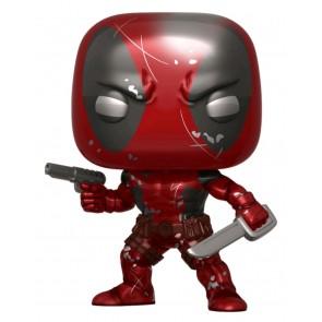 Deadpool - Deadpool 1st Appearance Metallic 80th Anniversary US Exclusive Pop! Vinyl