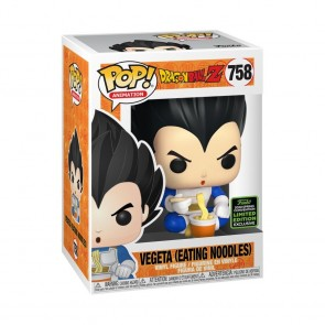 Dragon Ball Z - Vegeta eating noodles Pop! Vinyl ECCC 2020