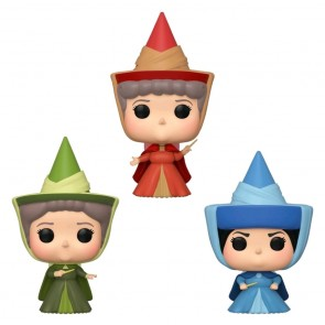 Sleeping Beauty - Fairies Pop! Vinyl 3pk ECCC 2020