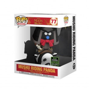 Mulan - Mushu on Panda Pop! Vinyl Ride ECCC 2020