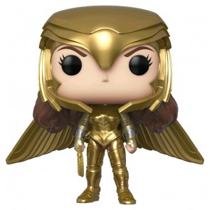 Wonder Woman: 1984 - Wonder Woman Gold Wide Wing Pose US Exclusive Pop! Vinyl