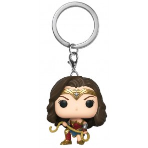 Wonder Woman: 1984 - Wonder Woman with Lasso Pocket Pop! Keychain