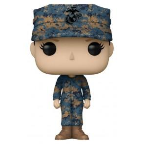 US Military: Marines - Female Caucasian Pop! Vinyl
