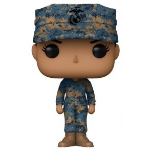 US Military: Marines - Female Hispanic Pop! Vinyl