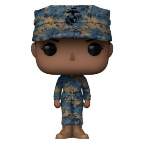 US Military: Marines - Female African AmericanPop! Vinyl