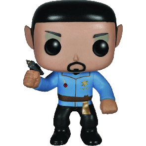 Star Trek - Mirror Universe Spock Pop! Vinyl Figure