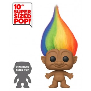 "Trolls - Rainbow Troll with Hair (with chase) 10"" Pop! Vinyl"