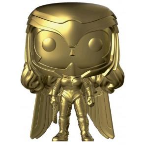 Wonder Woman: 1984 - Wonder Woman Power Pose Gold Chrome US Exclusive Pop! Vinyl