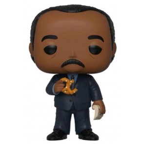 The Office - Stanley Huson with Pretzel US Exclusive Pop! Vinyl